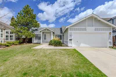 Reno Single Family Home Active/Pending-Call: 1844 Quail Run