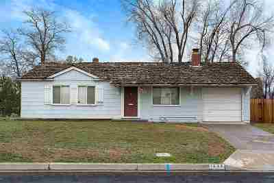 Reno Single Family Home New: 1535 Allen