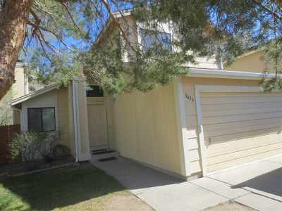 Reno Single Family Home New: 3456 Ridgecrest Dr.