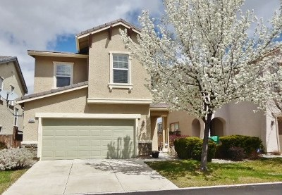 Sparks Single Family Home Active/Pending-Call: 6961 Sacred Circle