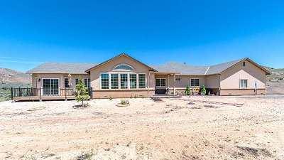 Washoe County Single Family Home For Sale: 16900 Fetlock Drive