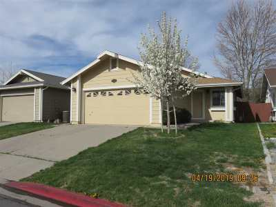 Washoe County Single Family Home Active/Pending-Loan: 7577 Water View