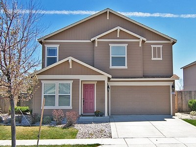 Reno Single Family Home New: 9050 Convair Way