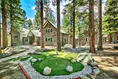 Reno Single Family Home New: 17000 Evergreen Hills Drive