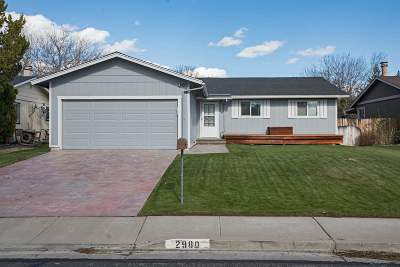 Reno Single Family Home Active/Pending-Loan: 2980 Cisco Way
