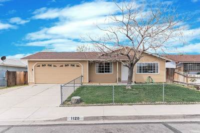 Carson City Single Family Home Active/Pending-Loan: 1120 Monte Rosa Drive