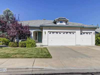 Reno Single Family Home Active/Pending-Loan: 4815 Elkcreek Trail