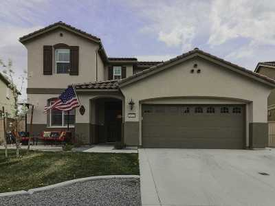 Reno Single Family Home Active/Pending-Loan: 10596 Washington Park
