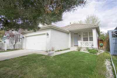 Reno Single Family Home Extended: 709 Caughlin Glen