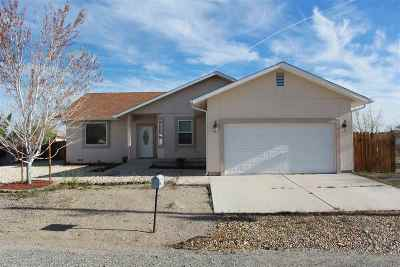 Yerington Single Family Home New: 16 Calico Hills