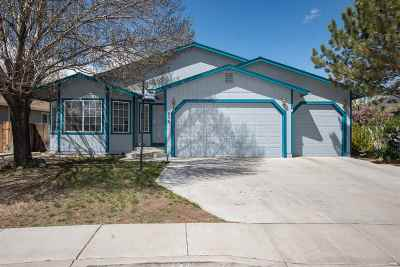 Fernley Single Family Home Active/Pending-Call: 656 Silver Lace Blvd