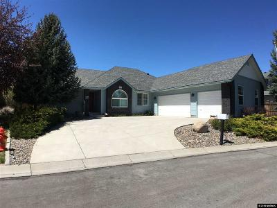 Carson City Single Family Home New: 2084 Clover Ct