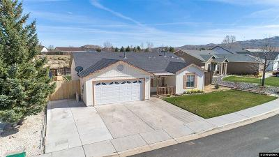 Reno Single Family Home New: 11700 Camel Rock