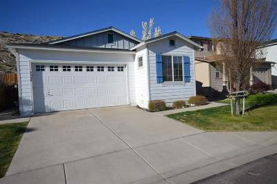 Reno Single Family Home New: 2388 Sapphire Ridge