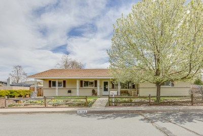 Carson City Single Family Home New: 3185 Cortez Street
