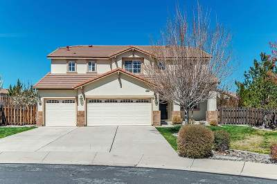 Reno Single Family Home New: 3035 Deer Run Drive