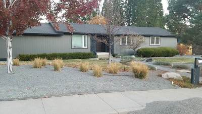 Reno Single Family Home New: 1320 Hilltop Road