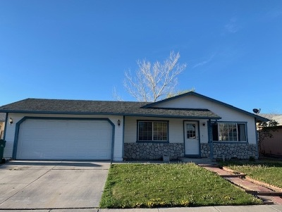 Carson City Single Family Home New: 1552 Spooner