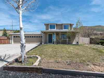 Reno Single Family Home Back On Market: 17105 Waxwing Ct