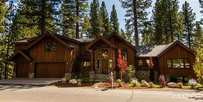 Incline Village Single Family Home For Sale: 665 Martis Peak