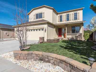 Reno Single Family Home New: 9765 Silver Desert