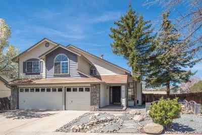 Reno Single Family Home New: 1925 Windview Ct. #Gateway