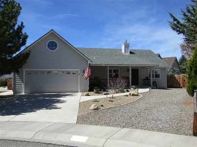 Minden Single Family Home Active/Pending-Loan: 1276 Hermosa Court