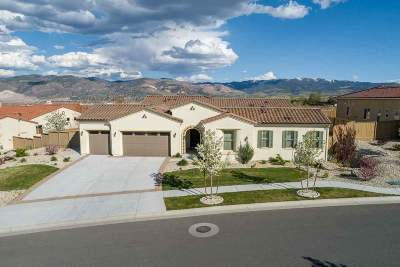 Reno Single Family Home New: 13500 Tremolite