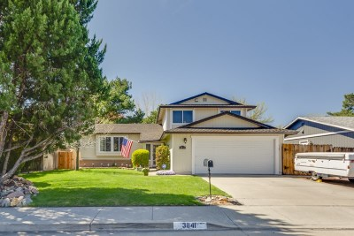 Reno Single Family Home New: 3841 Amador Way