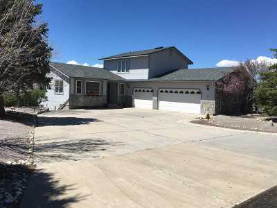 Carson City Single Family Home Active/Pending-Loan: 2577 Damon Rd