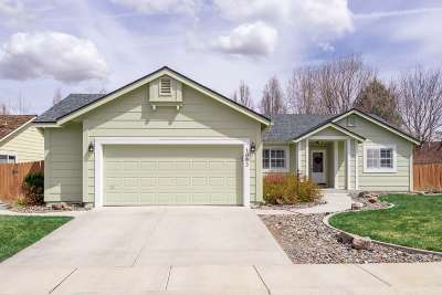 Minden Single Family Home Active/Pending-Loan: 1093 Wisteria Drive
