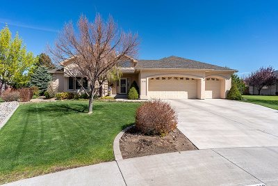 Gardnerville Single Family Home For Sale: 1018 Sundown Ct