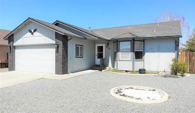 Carson City NV Single Family Home Active/Pending-Loan: $313,900