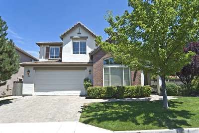 Reno Single Family Home Active/Pending-Call: 531 Alydar Court