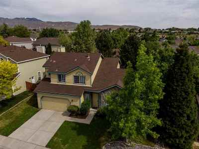Reno Single Family Home Active/Pending-Loan: 4471 Reddawn Drive