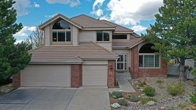 Reno Single Family Home Active/Pending-Loan: 4641 Sommerville Way