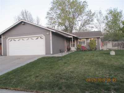 Carson City Single Family Home Active/Pending-Loan: 4160 Midas Way