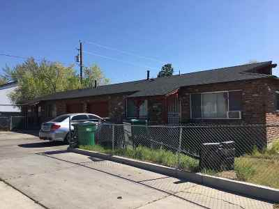 Reno Multi Family Home For Sale: 1297 And 1295 E 11th Street