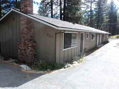 Incline Village Single Family Home Active/Pending-Loan: 923 Harold Drive #Harold