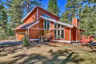 South Lake Tahoe CA Single Family Home For Sale: $689,000