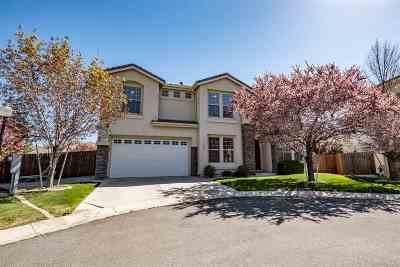 Carson City Single Family Home Active/Pending-Loan: 2485 Watercrest Ct.