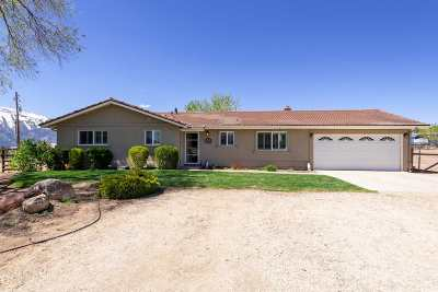 Washoe Valley Single Family Home Active/Pending-Loan: 4035 Partridge