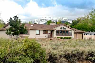 Reno Single Family Home Active/Pending-Loan: 1550 Twin Oaks Rd