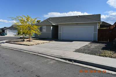 Fernley Single Family Home For Sale: 341 Emigrant Way