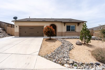 Sun Valley NV Single Family Home Sold: $335,000