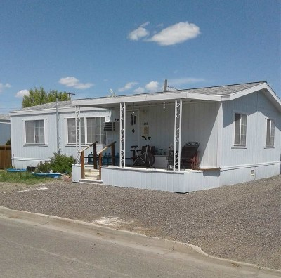 Battle Mountain Manufactured Home For Sale: 653 N 2nd St
