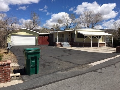 Reno Manufactured Home For Sale: 370 Mira