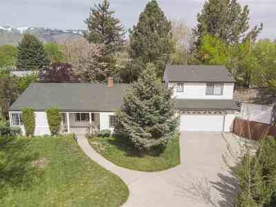 Carson City Single Family Home For Sale: 916 Angus Street