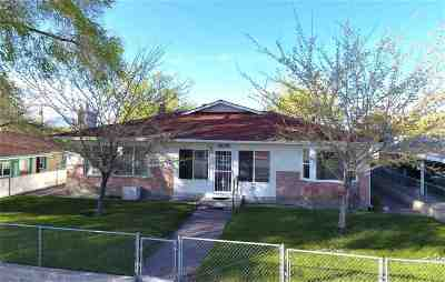 Winnemucca Single Family Home Active/Pending-Call: 1635 Melarkey St.