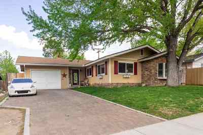 Carson City Single Family Home Active/Pending-Loan: 761 Crain St